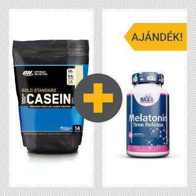 Optimum Nutrition Casein HayaLabs Melatonin